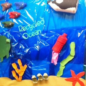 Dive into Learning Recycled Ocean