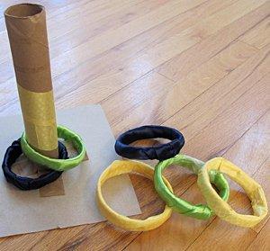 Handmade Ring Toss Game