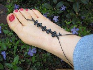 DIY Beaded Barefoot Jewelry