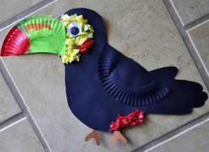 Tropical Toucan Crafts