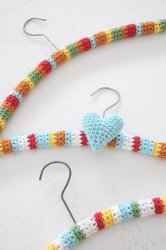 Hang It Up! Crochet Hanger Covers
