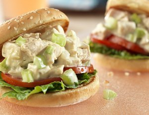 Picnic Chicken Salad Sandwiches