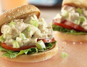 Picnic Chicken Salad Sandwiches
