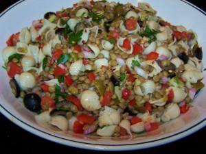 Lentil Pasta Salad Recipe