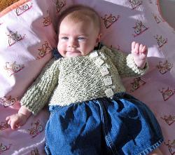 Cozy Baby Cardigan