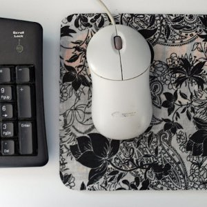 Fabric Refurbished Mousepad