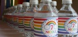 Rainbow Party Printable Designs