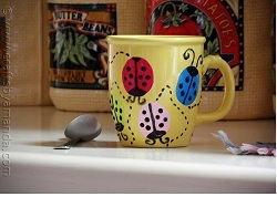 Summertime Ladybug Mug