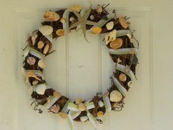 Decorative Summertime Beach Wreath