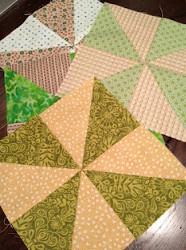 Pinwheel Quilt Blocks Tutorial