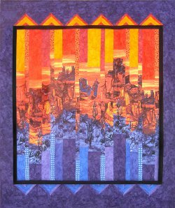 Desert Sunset Wall Quilt