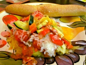Simple to Share Spaghetti Squash Casserole