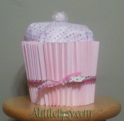 Baby Shower Blanket Cupcake