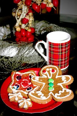 Sweet Homemade Gingerbread Men
