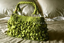 Shaggy Bag with Lining