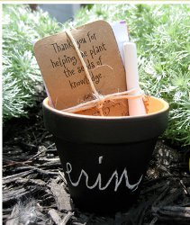 Personalized Planting Gift
