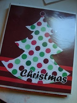 Christmas Binder Craft