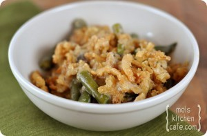 Make Ahead Green Bean Casserole