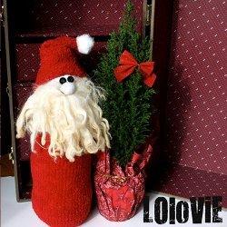 Christmas Sock Santa