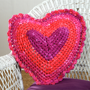 Summer Lovin' Crochet Pillow