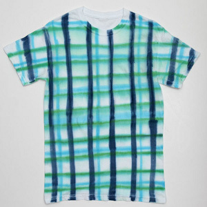 Impatient Plaid Tie Dye Tee