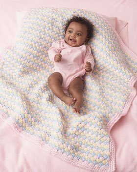 Strawberry Ferry Baby Blanket