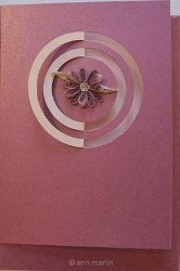 Elegant Quilled Flower Card