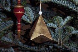 Beautiful German Bell Paper Ornament