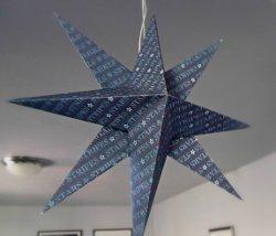 3D Patriotic Paper Stars