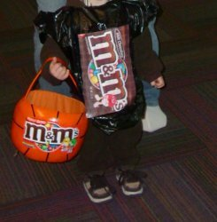 M&M Treat Bag Costume