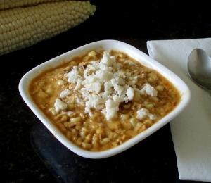 Tex Mex Ancho Creamed Corn