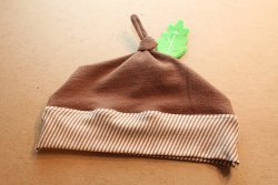 Cute Acorn Knot Hat