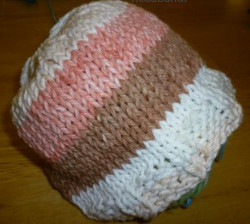 Ribbed Baby Hat