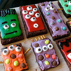 Monster Munch Brownies