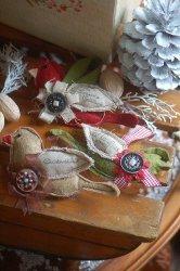 Easy Sew Christmas Bird Ornaments