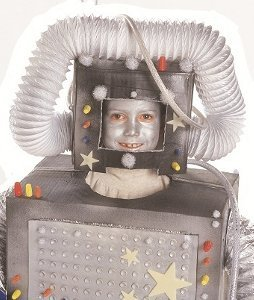 Rad robot costume for Robotic halloween decorations