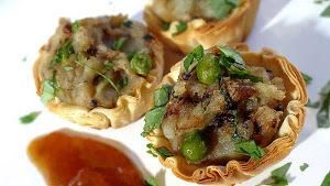 Spicy Samosa Bites
