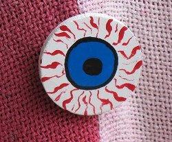 DIY Eyeball Pin