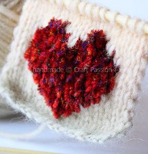 Knit a Heart Chart