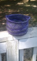 Small Crochet Basket