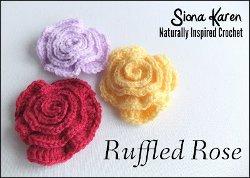 Ruffled Rose Pattern