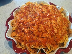 Cheesy Doritos Enchilada Casserole