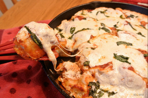 Skillet Pizza Monkey Bread