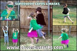 Super Hero Cape and Mask