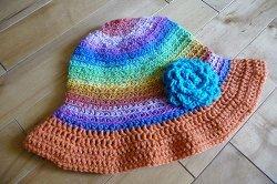 Easy Summer Crochet Hat Patterns : 31 Crochet Patterns for the Summer Vacation Beach Bum ...