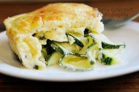 Zucchini Cheddar Puff Casserole