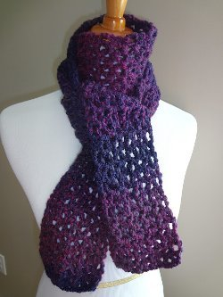 Blueberry Pie Scarf