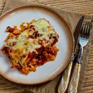 Cheesy Deconstructed Stuffed Cabbage Casserole