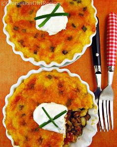 Cornbread Tamale Pie
