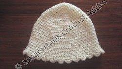 Toddler Shell Stitch Hat